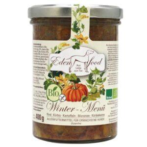 eden food bio menu winter