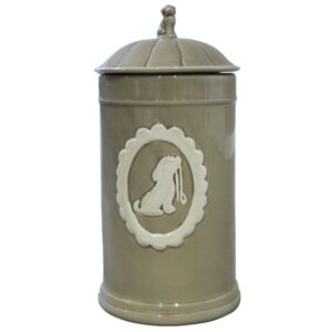 keramik aufbewahrungs dose jar taube
