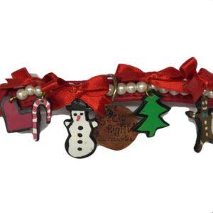 weihnachts hundehalsband