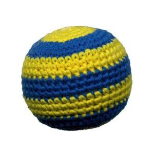 organic ball blau-gelb