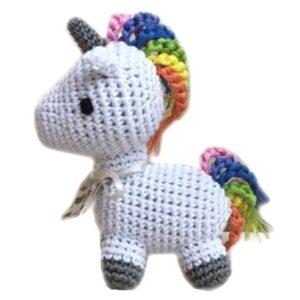 organic unicorn small dogs toy