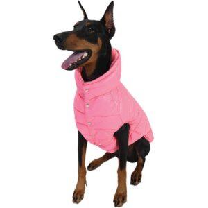puppy angel padded vest pink
