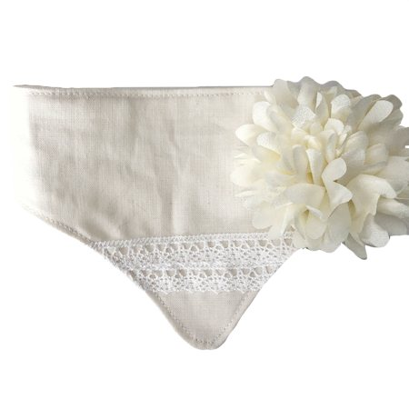 flower bandana snow white