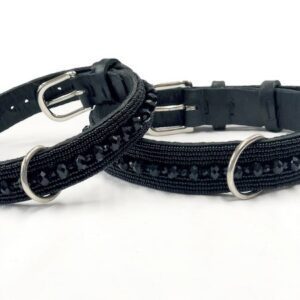 perlen halsband black beauty