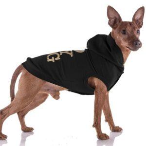 hunde hoodie i love my dog black