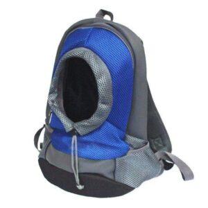 hunderucksack airmash blau grau