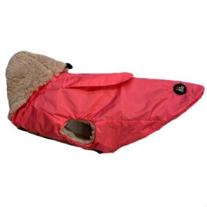 regenveste i love my dog pink