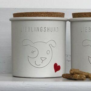 keramik dose lieblingshund