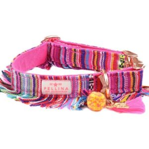 halsband boho pink