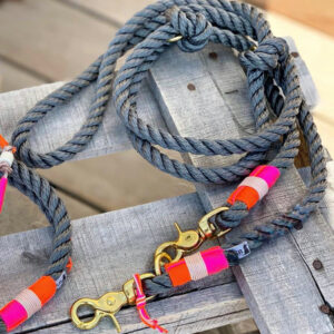 kordelleine fashion grey mit pink