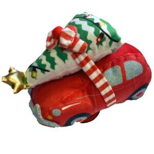 merry woofmas car