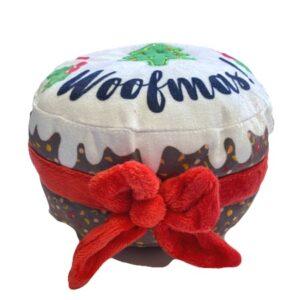 merry woofmas christmas cake