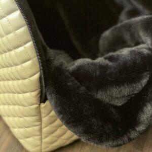 reisetasche von i love my dog beige