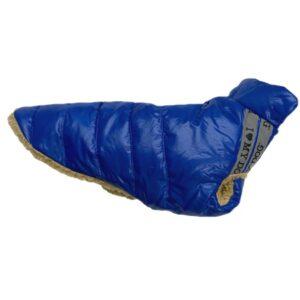 i love my dog schnee und teddy veste blau