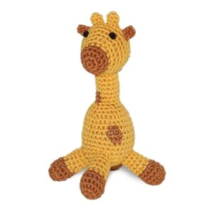organic dog toy giraffe