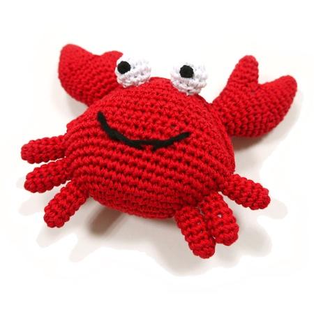 organic dog toy krabbe