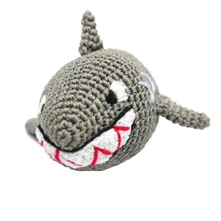organic dog toy shark