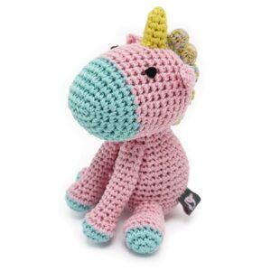 organic dog toy unicorn
