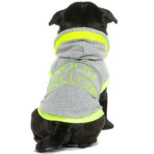 hoodie feels good yellow
