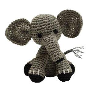 organic dog toy elli der elefant