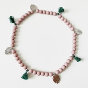 hundehalsband coco beach rosa