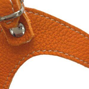 hundeharness kite luxury soft orange