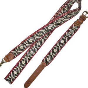 peruvian hundehalsband red saona night