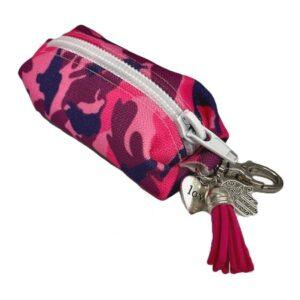 kotbeutel spender fashion camo pink