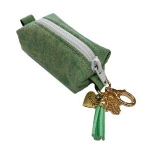 kotbeutel spender fashion green