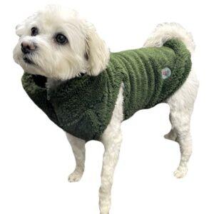 hunde fleece veste green