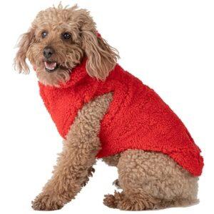 hunde fleece veste strawberry